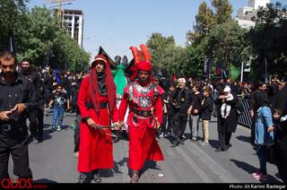 عزاداری تاسوعای حسینی مشهد مقدس