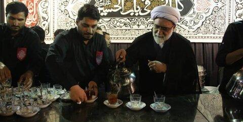 چای ریزی حجت الاسلام مروی