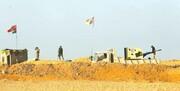 حمله به یک پایگاه الحشد الشعبی در بوکمال سوریه