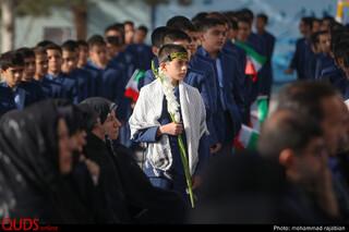 آغاز سال تحصیلی مدرسه امام رضا علیه السلام، با حضور قائم مقام تولیت آستان قدس رضوی