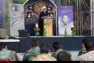 مراسم بزرگداشت سالگرد شهید هاشمی نژاد در حرم مطهر رضوی