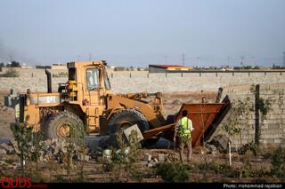 تخریب 124 مورد تخلف تغییر کاربری زمین های کشاورزی به باغ ویلا