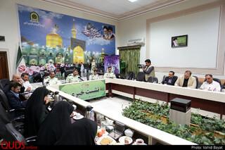 نشست خبری فرمانده انتظامی استان خراسان رضوی به مناسبت هفته ناجا