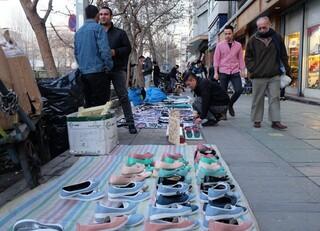 دستفروشی در مشهد و سد معبر