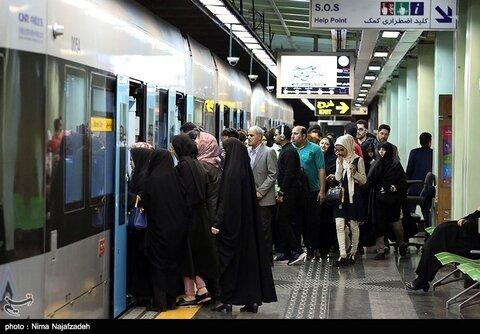 بهای بلیت مترو
