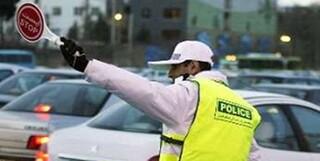 ترافیک افسر راهنمایی و رانندگی