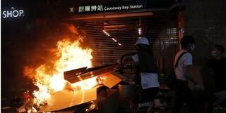 خشونت در هنگ کنگ