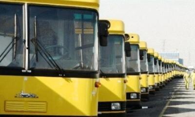 اتوبوسرانی مشهد اتوبوس درون شهری