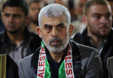 یحیی سنوار رئیس دفتر سیاسی حماس