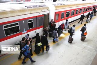 نخستین قطار ویژه اربعین