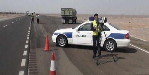 پلیس راهنمایی و رانندگی جریمه سرعت غیر مجاز