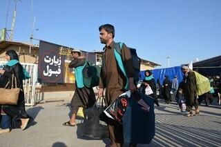 غافلگیری موکبداران عراقی توسط زائران ایرانی!/فیلم