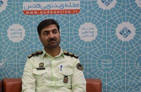 سرهنگ محمد بوستانی، رییس پلیس پیشگیری خراسان رضوی