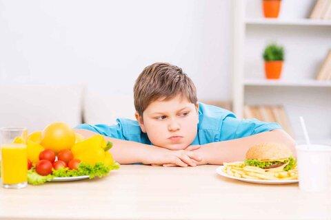 چاقی و پرخوری کودکان