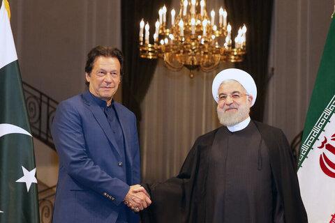 عمران خان و روحانی - کراپشده
