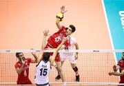 تیم ملی والیبال ایران مقابل ایتالیا شکست خورد