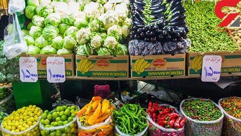 بازار راکد میوه و سبزی