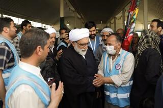 حضورتولیت آستان قدس رضوی دربیمارستان های سیار رضوی در طریق الحسین