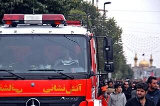 سرپرست معاونت عملیات آتش نشانی مشهد