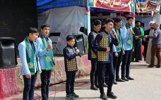 اجرای سرود در اربعین