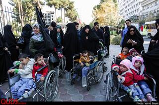 کاروان عزاداری دهه آخر صفر آسایشگاه معلولین شهید فیاض بخش