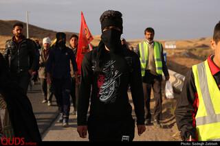زائرین پیاده حرم مطهر رضوی