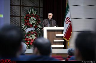 تودیع و معارفه رئیس دانشگاه علوم پزشکی مشهد با حضور وزیر بهداشت