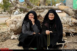 """در مسیر عشق """"زائرین پیاده امام رضا علیه السلام، جاده کلات"""""""