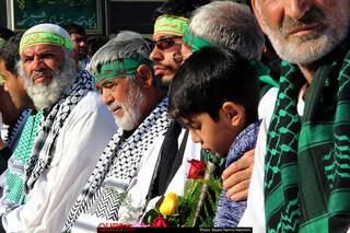 مراسم استقبال از کاروان پیاده مشهدبه کربلا