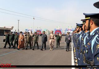 حضور فرمانده کل قوا در مراسم دانشآموختگی دانشجویان دانشگاههای افسری ارتش