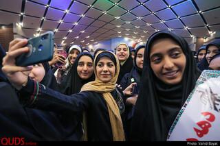 همایش دختران دهه هشتادی انقلابی در مشهد