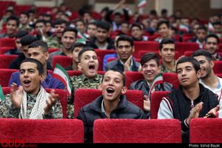 همایش پسران دهه هشتادی انقلابی در مشهد