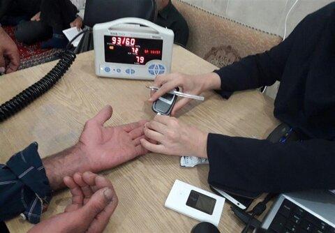 تست قند و فشار خون