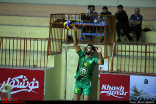 شکست تیم والیبال پیام مشهد در دیدار خانگی