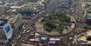 عراق | آرامش نسبی در پایتخت همراه با افزایش شمار معترضان