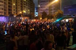 تظاهرات لبنان و عراق
