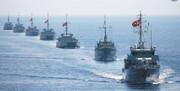آغاز رزمایش دریایی ۱۵ کشور در جنوب ترکیه