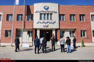 بازدید اصحاب رسانه از تصفیه خانه شماره پنج مشهد(خین عرب)