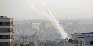 شلیک موشک به اسرائیل
