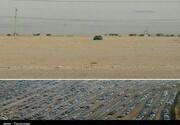انتقال تنها خودروی باقیمانده در پارکینگ بزرگ اربعین به مهران