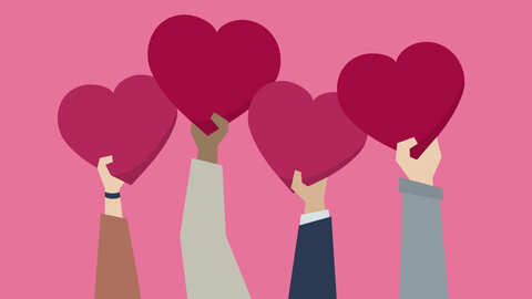 قلب محبت عشق دوستی