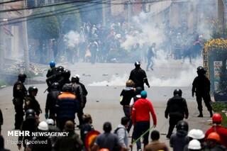 اعتراضات بولیوی