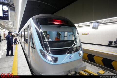افتتاح ایستگاه مترو الندشت