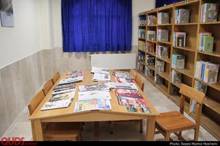 افتتاح کتابخانه مسجدامیرالمومنین علیه السلام