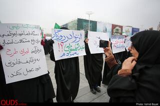 راهپیمایی انزجار مردم مشهد از آشوبگران