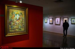 نمایشگاه نگارگری چشم بلورین در نگارخانه رضوان مشهد