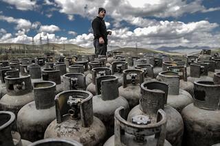 توزیع گاز مایع