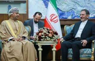 جهانگیری و وزیر صنعت عمان