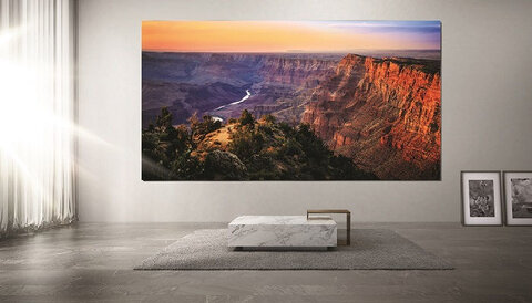 Samsung The Wall MicroLED display
