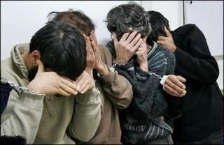 دستگیری سارقان کابل
